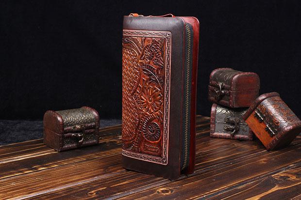 皮雕钱包 ENDH-006——恩典皮具背包案例