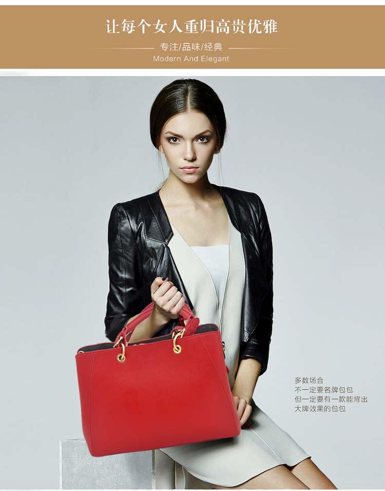 女款真皮手提包黑色东莞皮包生产厂家直销_01.jpg